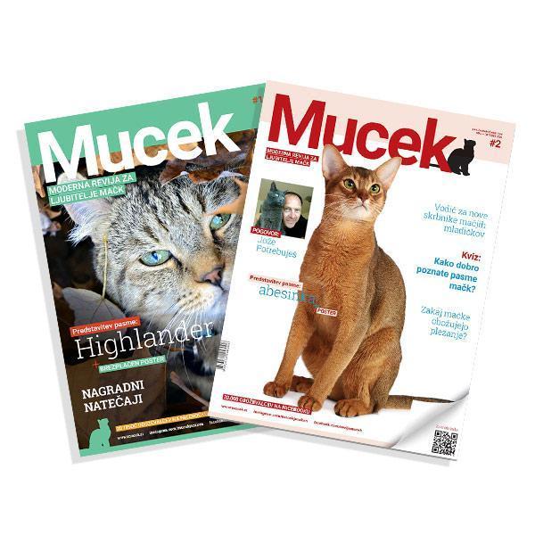 Naročnina na revijo Mucek